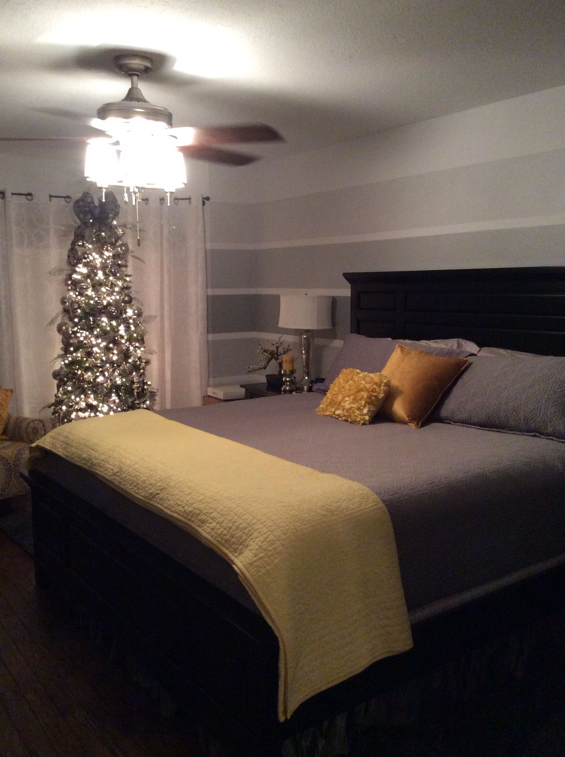 Grey yellow bedroom | Guest bedroom, Bedroom styles ...