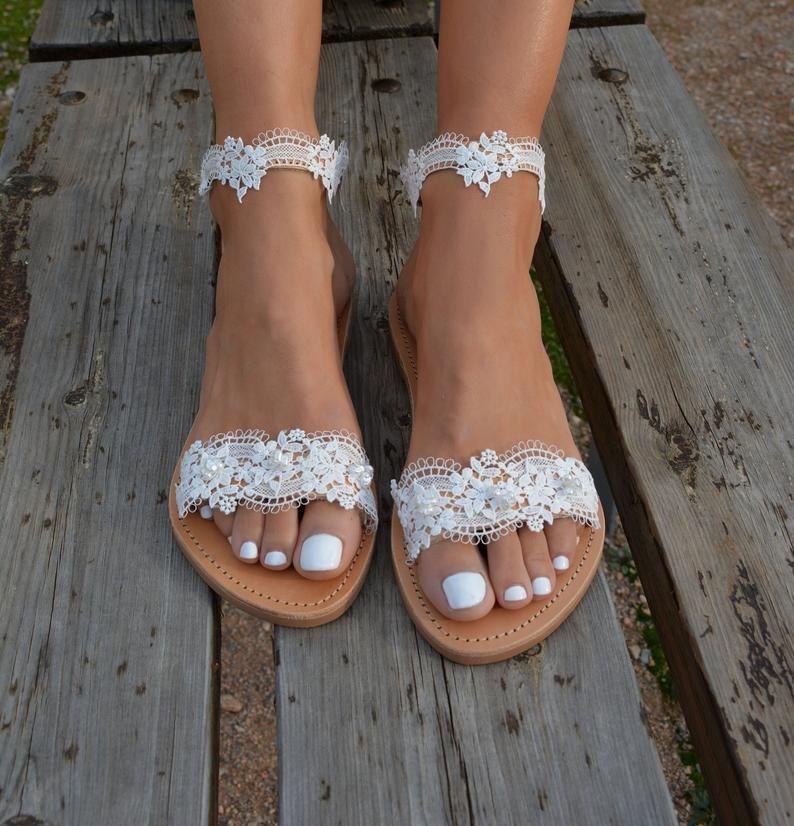 33++ White wedding sandals for bride ideas in 2021