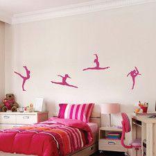 Gymnastics Wall Decal
