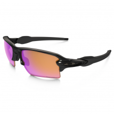 cb413376c5 Oakley Flak Jacket XLJ Sunglasses Polished Black   Prizm Trail Lens ...