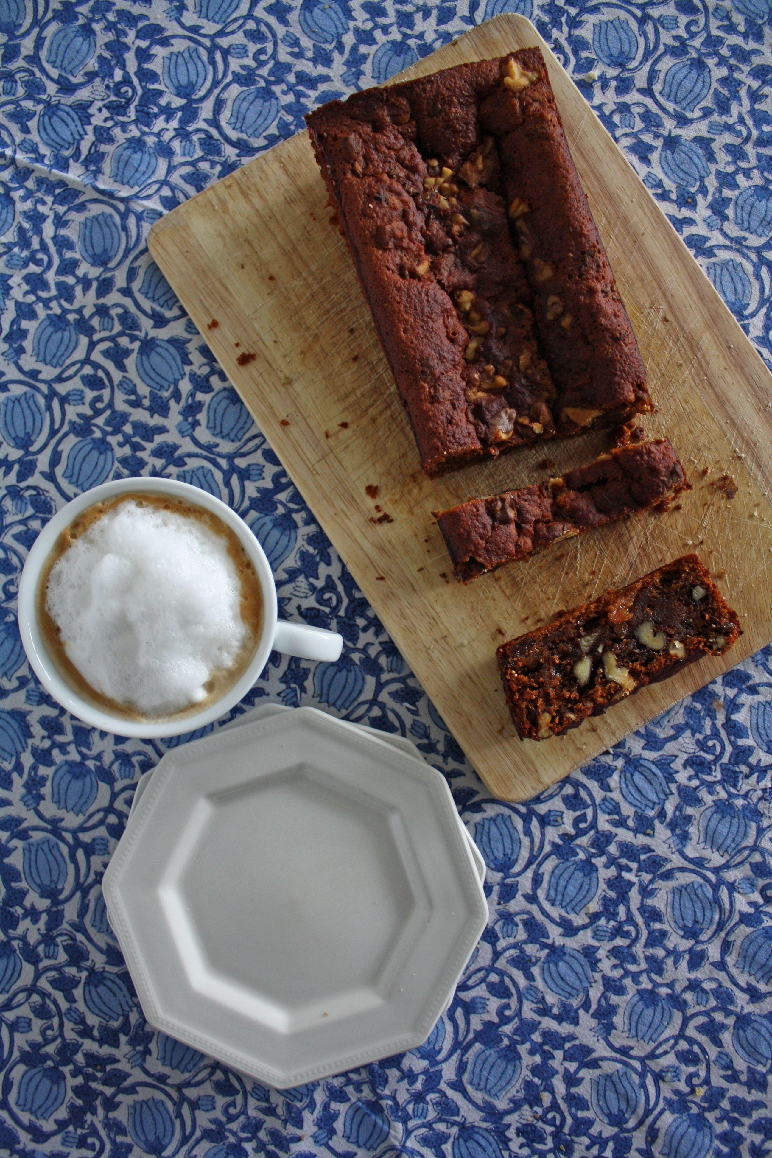 Honey and Fig Walnut Loaf