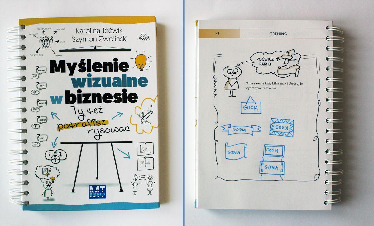 Czym Jest Myslenie Wizualne I Jak Mozna Sie Go Nauczyc Gosia Zimniak Books To Read Reading Books