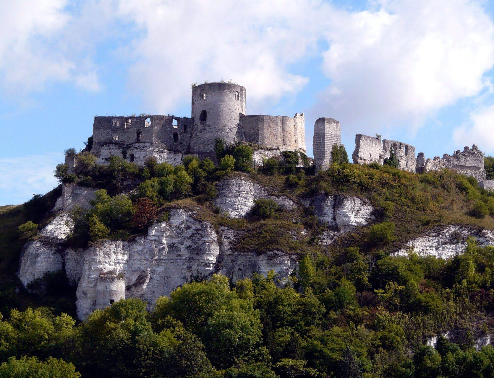 France Norman chateau Gaillard aux Andelys Norman