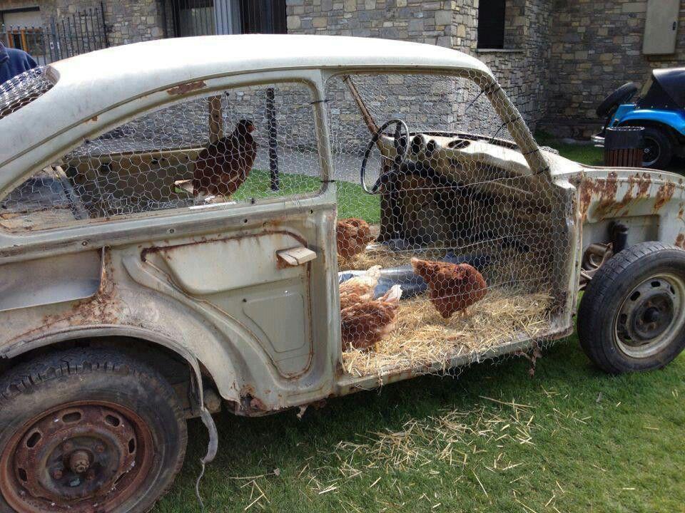 13 outrageous chicken coop designs h hnerstall alte autos und gebraucht. Black Bedroom Furniture Sets. Home Design Ideas