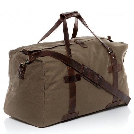 Scotch & Vain Reisetasche CHASE - Leder Weekender hellbraun-beige Taschen Herren Sporttaschen