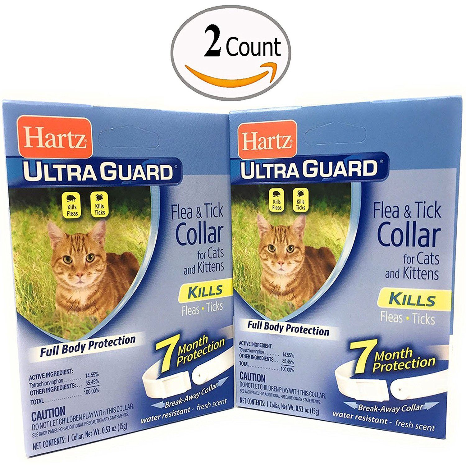 Flea Collar for Cats and Kittens Water Resistant 7 Months