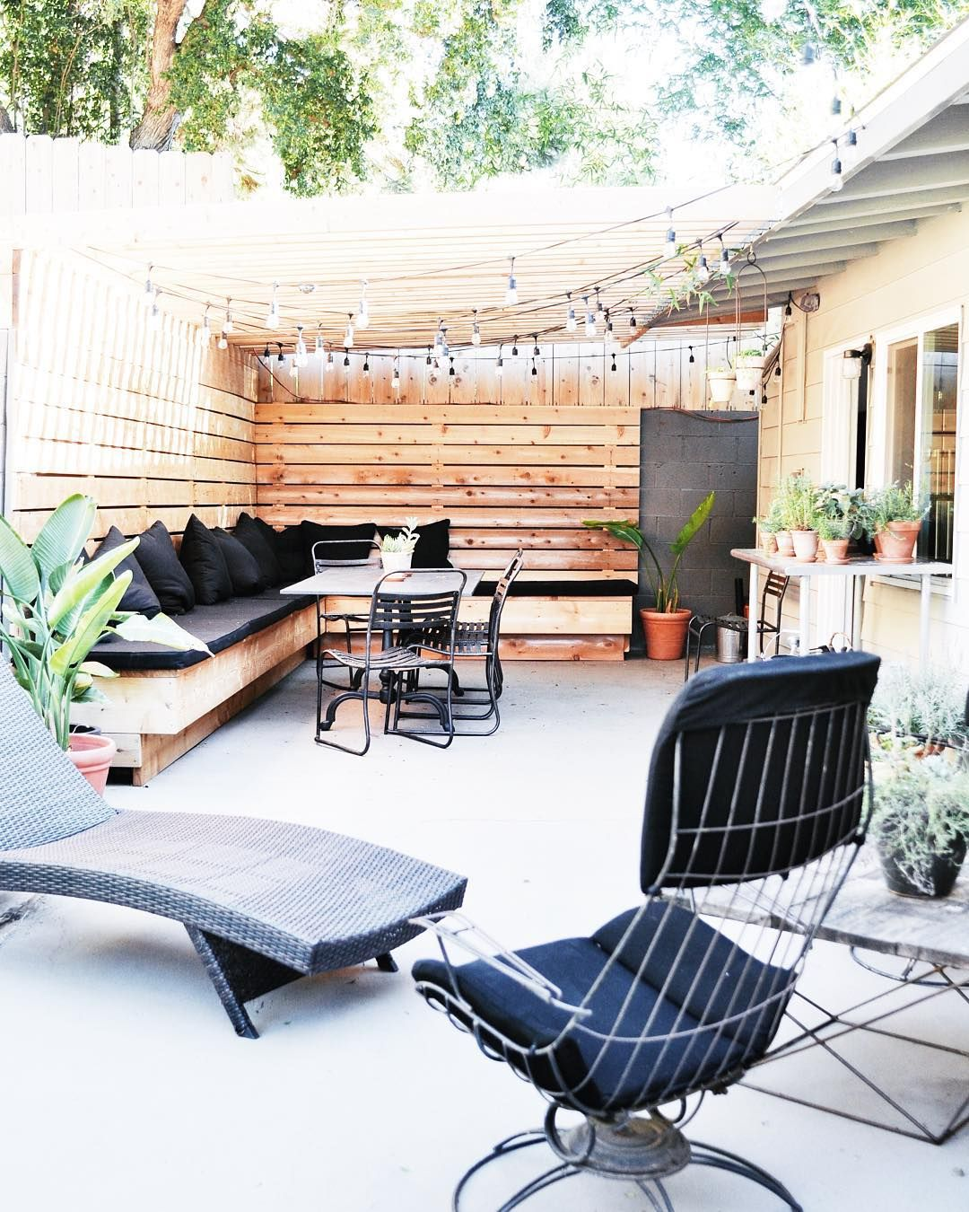"""Backyard Transformation Before After: """"sharing My Before + After Backyard Makeover On The Blog"""