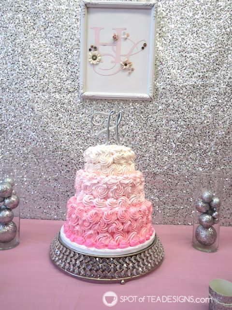 Stupendous Sparkling First Birthday Guest Post Pink Birthday Decorations Funny Birthday Cards Online Amentibdeldamsfinfo