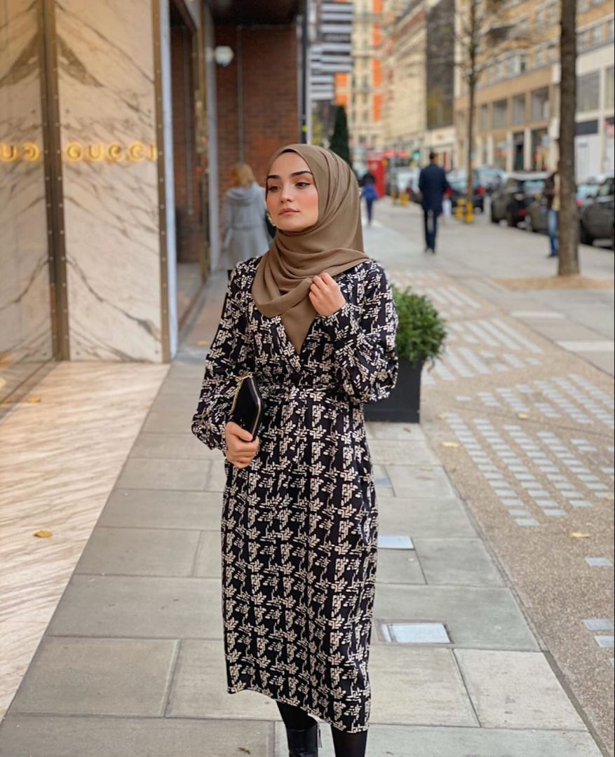 Casual Hijab Outfits That CanBe Worn In Fall And Winter -   18 style Hijab winter ideas