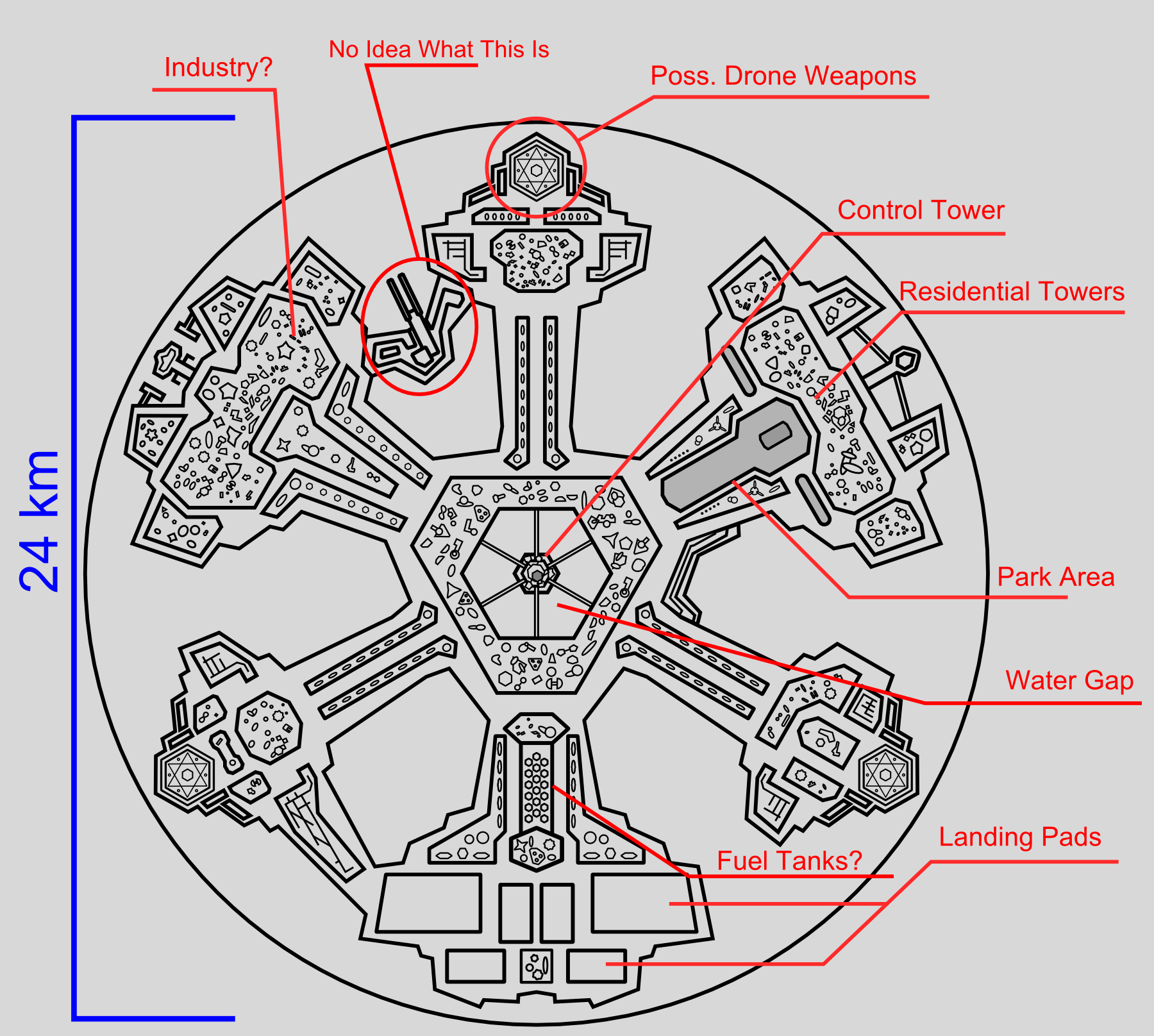 Stargate ships schematics google search stargate for Atlantis homes floor plans