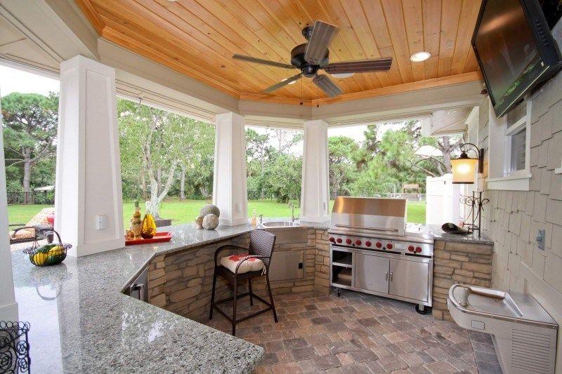 25+ Brilliant Ideas For Outdoor Kitchen Designs, Build & Remodel ...