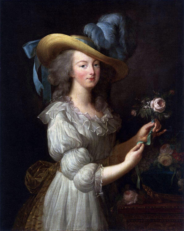 Marie in a Muslin Dress Élisabeth VigéeLebrun