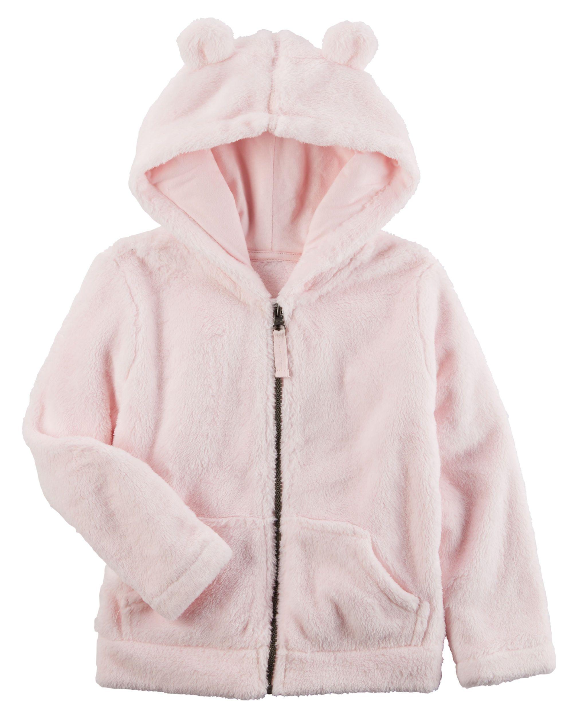 Snow Fleece Hoodie | Sherpa hoodie, Toddler girls and Babies