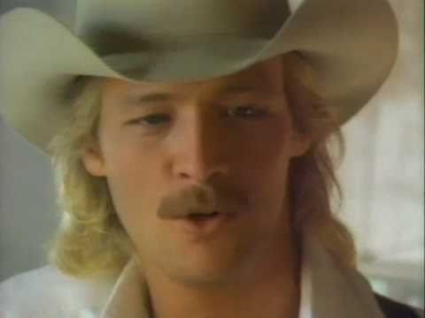 Music Video By Alan Jackson Performing Here In The Real World C