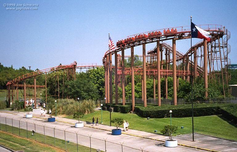 Excalibur Six Flags Astroworld Houston Texas Usa Astroworld Houston Houston History Historic Houston