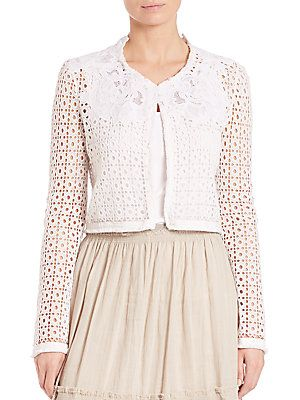 2125dadcf941 Elie Tahari Astor Jacket - White - Size | Products | How to wear ...