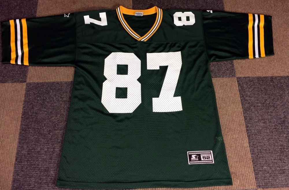 Vintage 90s Starter Robert Brooks Green Bay Packers Home Jersey Mens 52 L Xl Starter Greenbaypackers Vintage Clothing Men Vintage Outfits Jersey