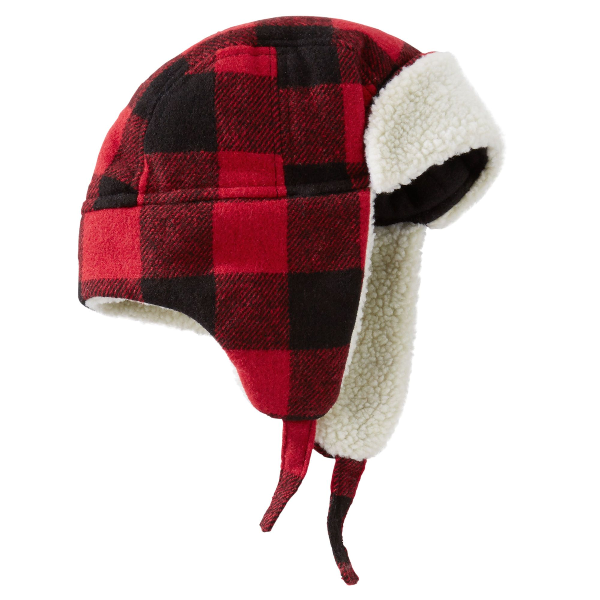 5e5f31321a9 Baby Boy OshKosh Buffalo Check Trapper Hat