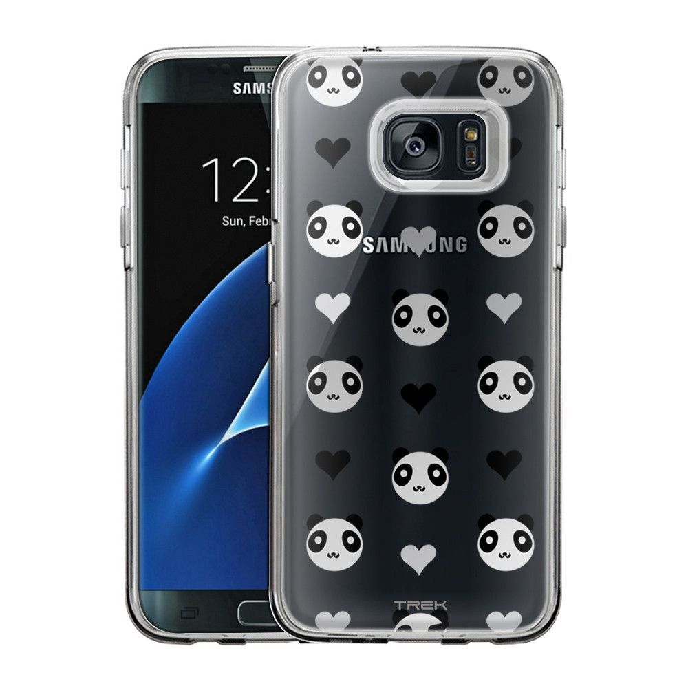 Samsung Galaxy S7 Edge Mini Panda Grey Case
