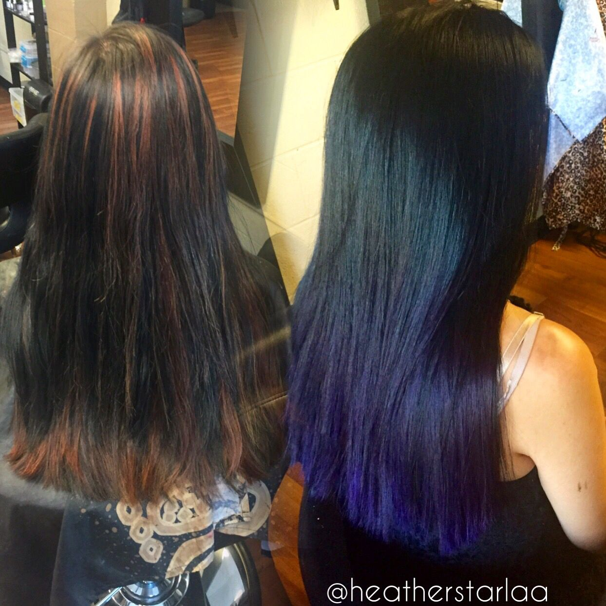black to violet balayage ombre violet hair purple hair. Black Bedroom Furniture Sets. Home Design Ideas