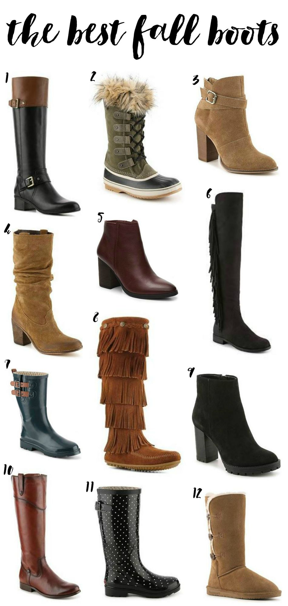 4cd4454f770 Affordable Fall Boots with DSW Shoes | InfluenceHer Collective | Dsw ...