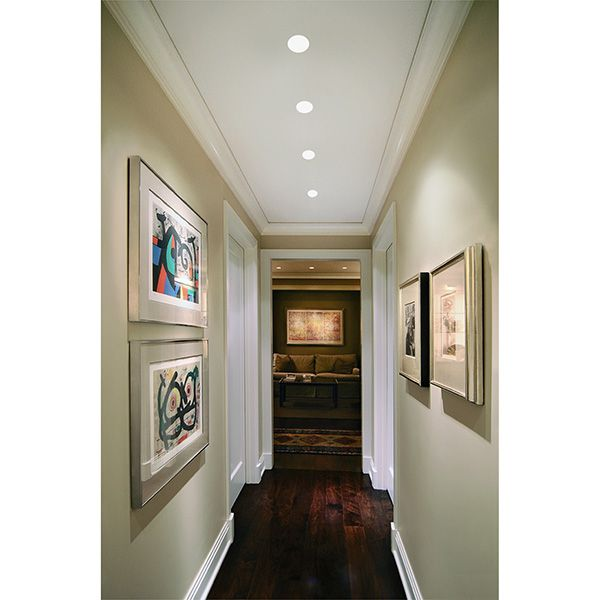 Ceiling Recessed Dual Lamp Spotlight For Front Entry