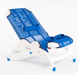 Delicieux Blue Wave Bath Chair From Rifton.com For Special Needs Children.