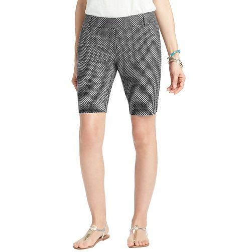 These print shorts are perfect for moms that don't always get to work out. They are comfortable while cove all the areas in need.  Loft