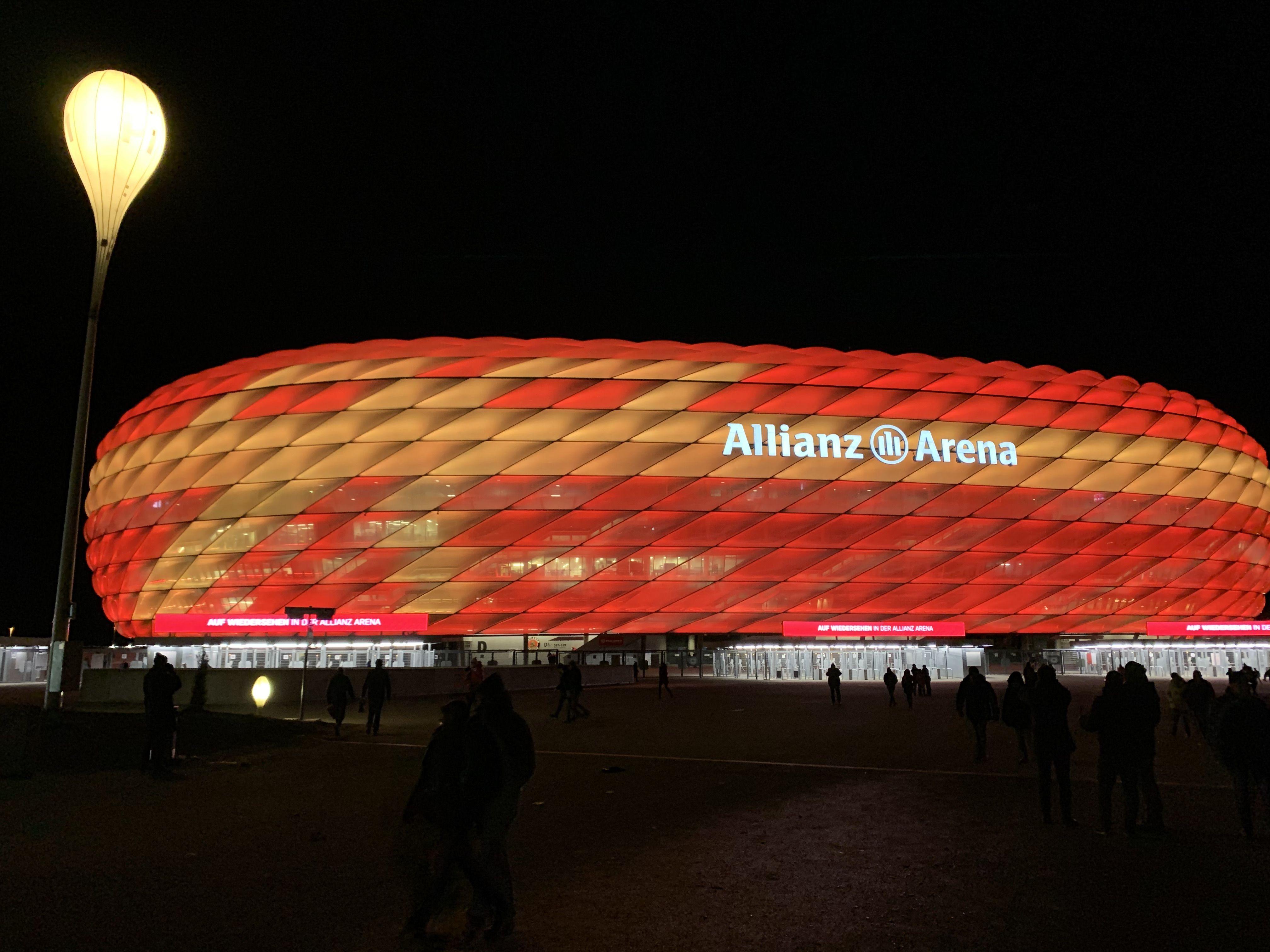 Allianz Arena in 2020 Allianz, Night, Arena