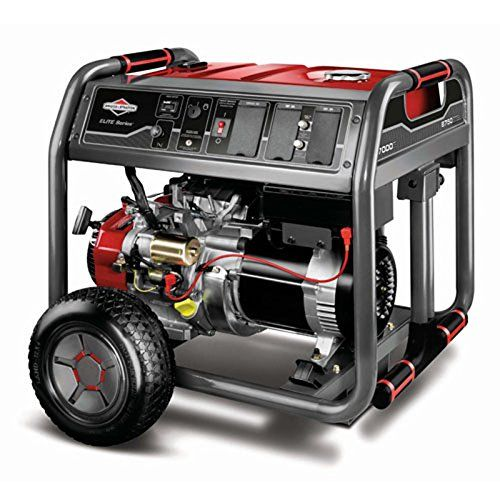 Briggs Stratton 30663 7000 Running Watts 8750 Starting Watts Gas Powered Portable Generator Best Portable Generator Portable Generator Portable Generators