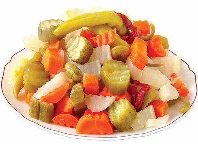وصفات مخلل مشكل سريع Food Cooking Recipes Stuffed Peppers