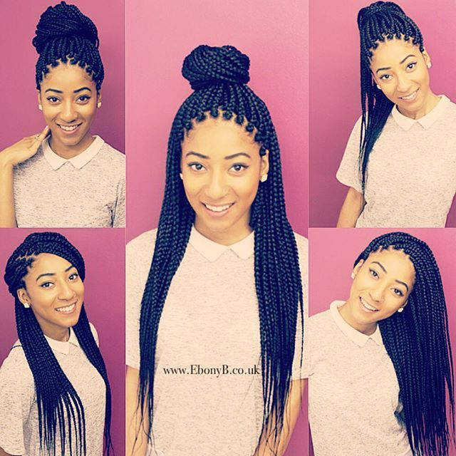 Box Braids Hairstyles Delectable Ebonyb Hair Salon Hairbyebonyb Specialing In Natural Hair And All