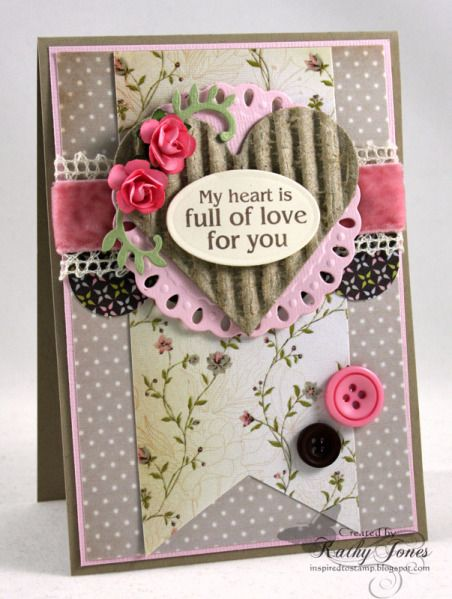 Heart Full of Love by Wattle - Cards and Paper Crafts at Splitcoaststampers