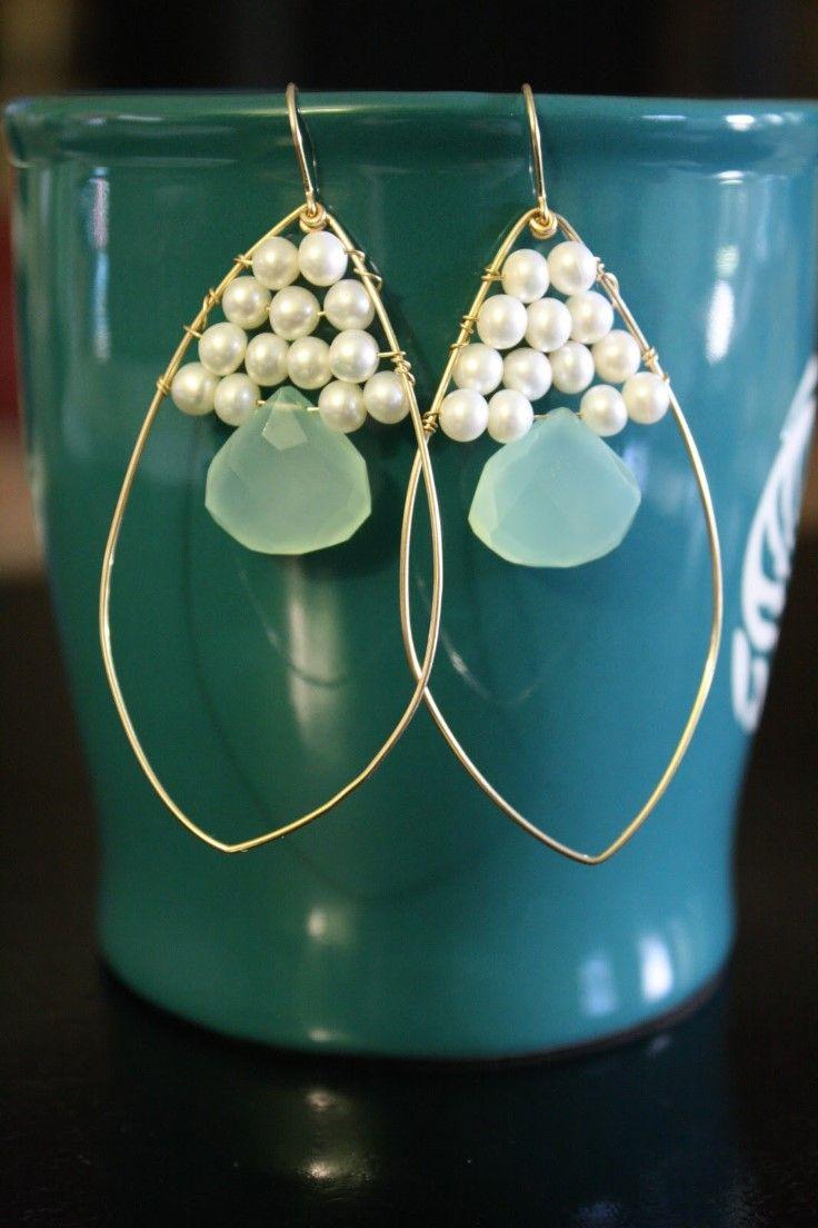 6 Beautiful DIY Earrings | Jewelery Inspiration | Pinterest | Diy ...
