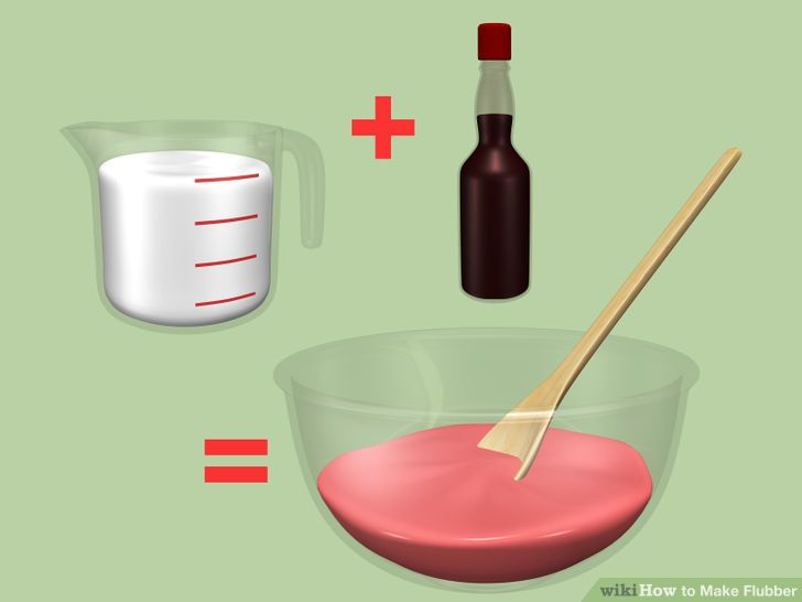 Imagenes De How To Make Flubber Without Borax And Cornstarch
