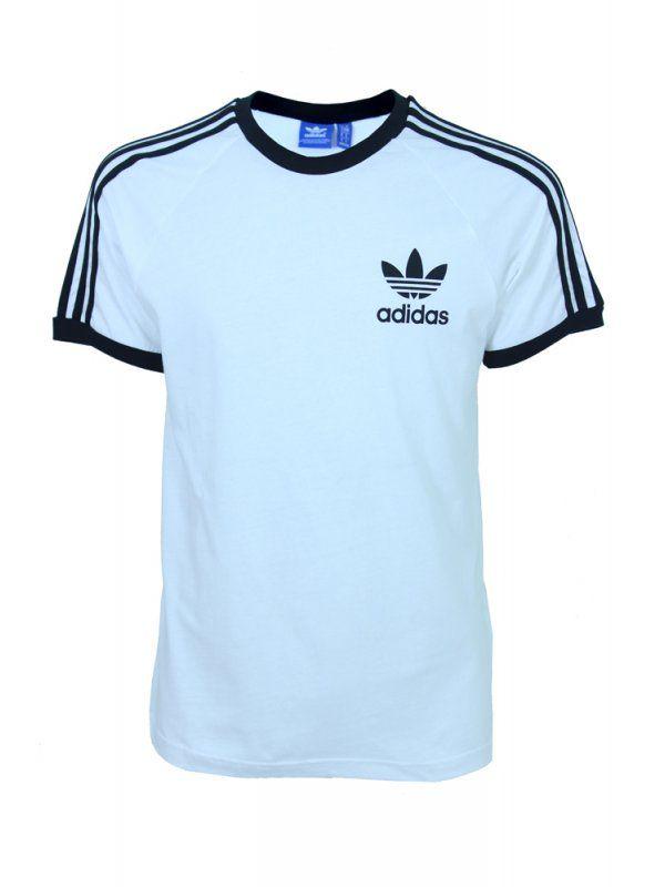2019 prezzo all'ingrosso economico per lo sconto compra meglio adidas Originals CLFN T Shirt - White | T shirt, Shirts, Adidas