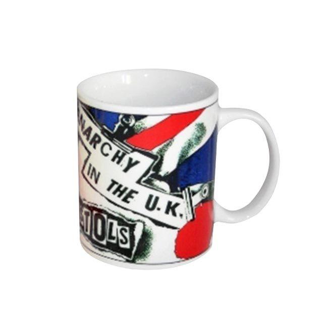 un superbe mug d co sex pistols du single anarchy in the uk mug caf ou tasse th voici une. Black Bedroom Furniture Sets. Home Design Ideas