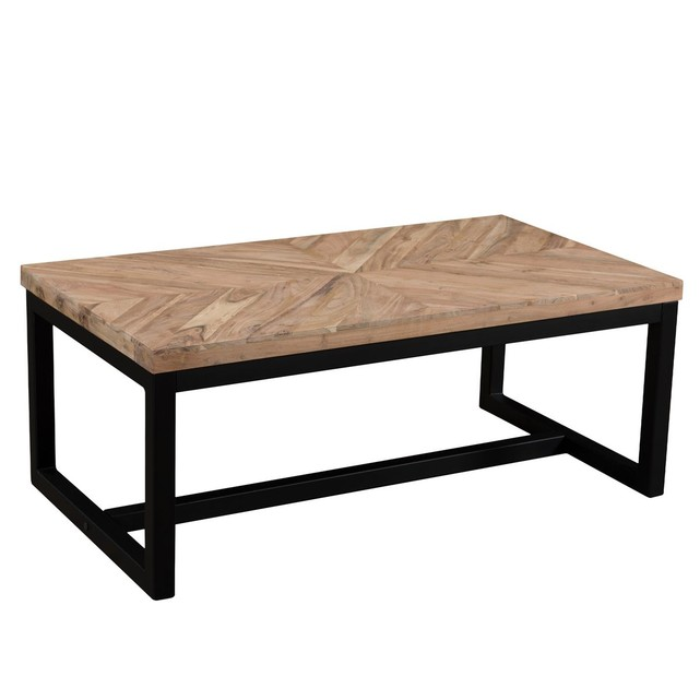 Table Basse Agata En Bois Bois Recycle Et Metal Noir Rendez Vous Deco La Redoute Table Basse Deco Table Basse Mobilier De Salon