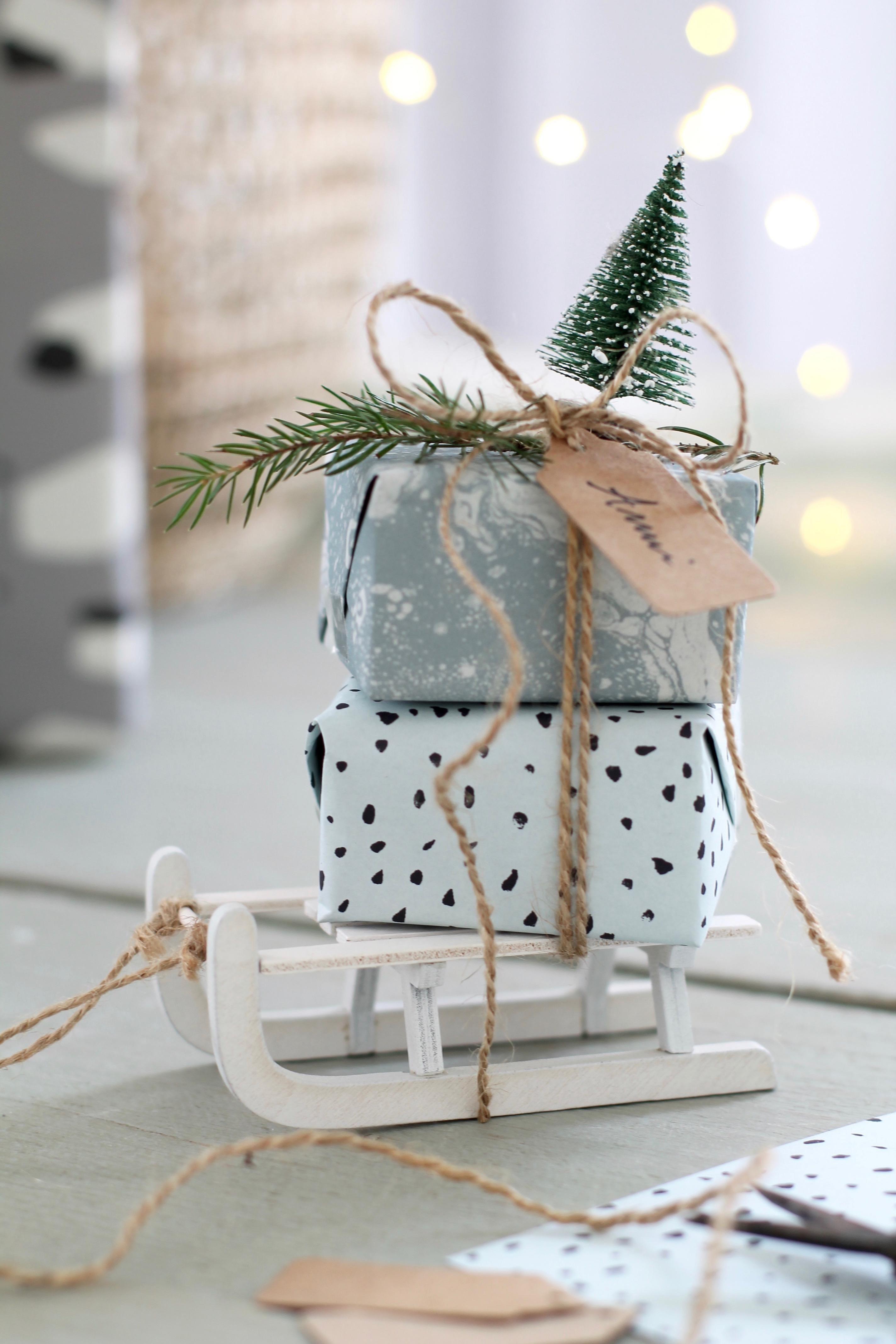 mini Geschenkverpackungsidee