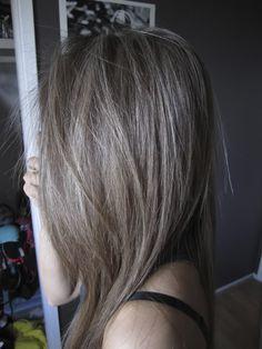 Dark Ash Brown Hair Tumblr Google Search Ashy Hair Ash Brown