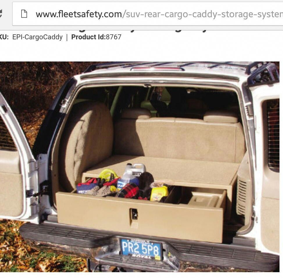 Pin by Kandy Puente on Car DIY in 2020 Suv storage, Suv