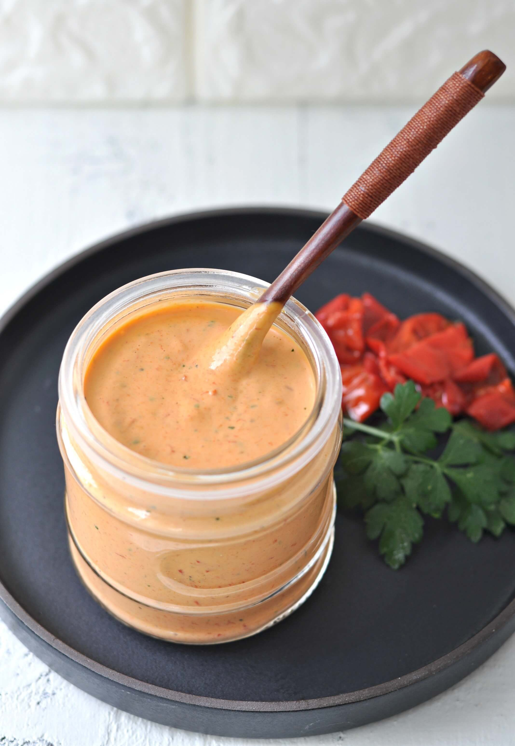 Roasted Red Pepper Garlic Aioli Peace Love And Low Carb Recipe Stuffed Peppers Garlic Aioli Roasted Red Peppers Recipes [ 3092 x 2136 Pixel ]