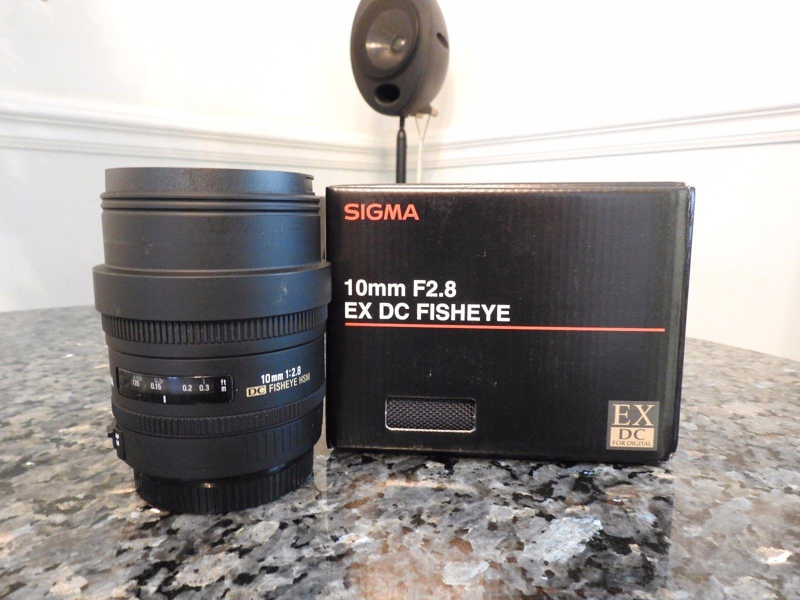 Sigma Ex 10mm F 2 8 Hsm Dc Full Auto Focus Manual Lens For Canon