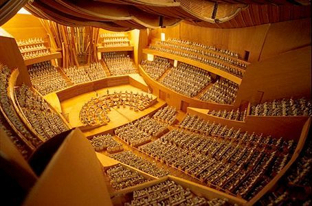 Walt disney concert hall interior los angeles united - Interior design school los angeles ...