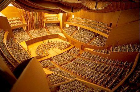 Walt Disney Concert Hall Interior Los Angeles United States Theatre Operas Of World