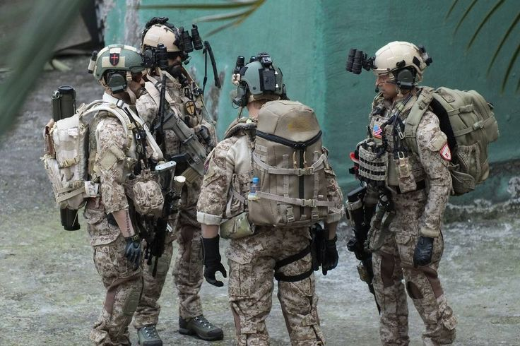 Seal Team 6 is training with South Korean assassination