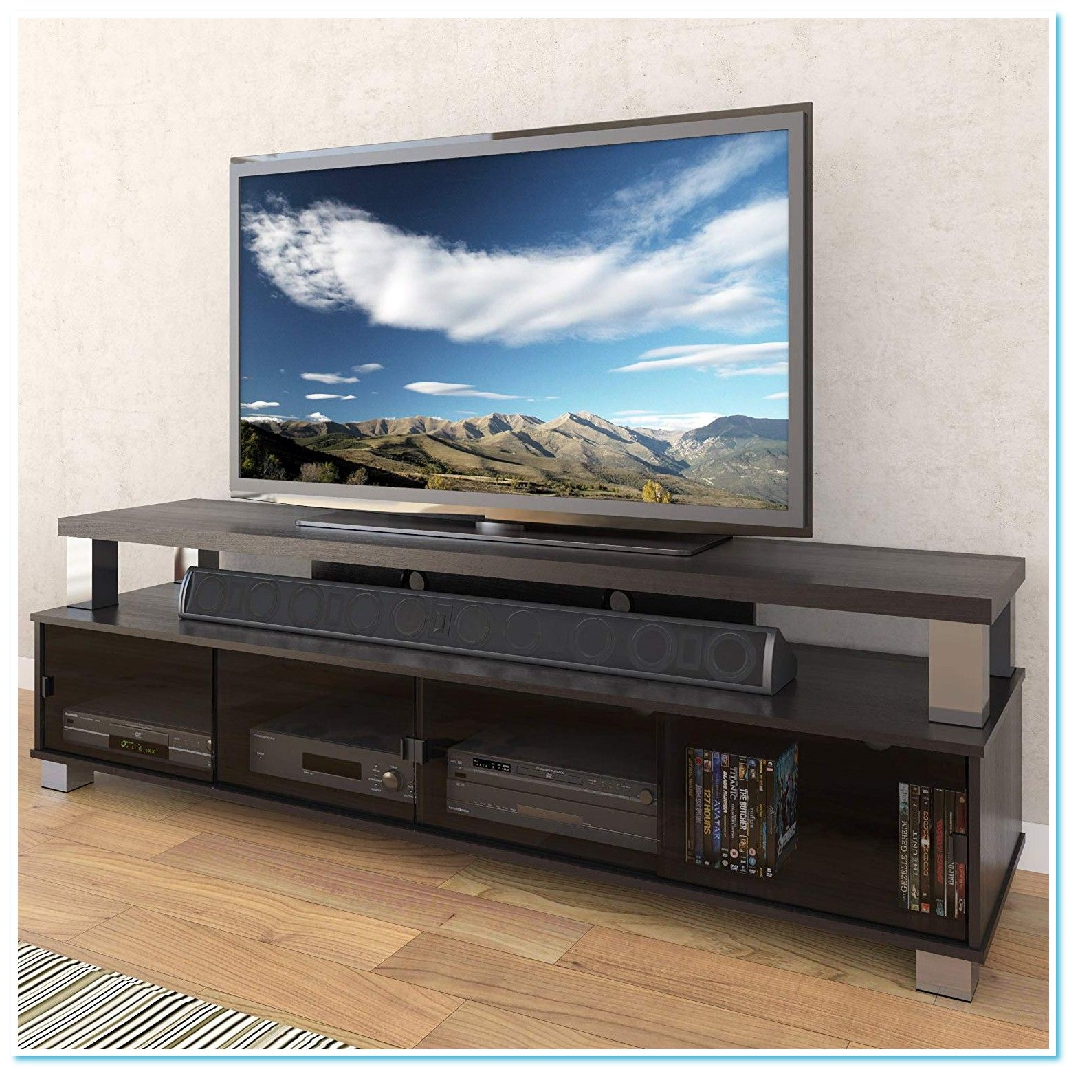 41 Reference Of Tv Stand Black 75 Inch Tv Stand Black Wood Black Tv Stand Flat Screen Tv Stand