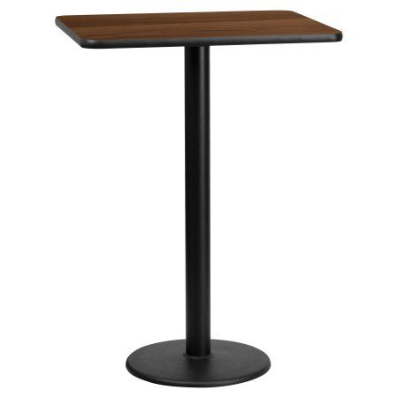 Flash Furniture Inch X Inch Rectangular Laminate Table Top - 30 inch table base