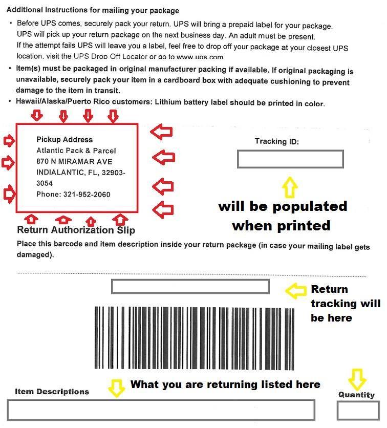 Amazon Address Labels