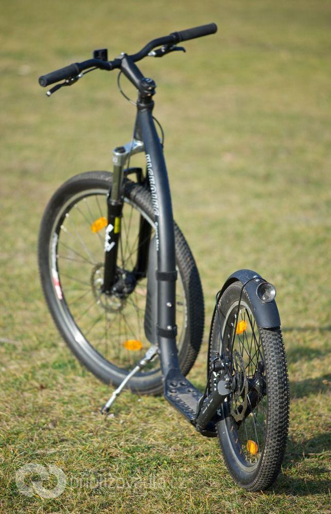 Terénní koloběžka Kickbike Cross Max 20D – test > Přibližovadla.cz